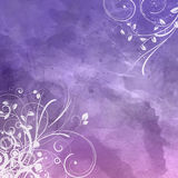 Floral watercolour background 0801 Stock Photography