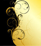 Floral wave Stock Images