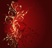 Floral wave Royalty Free Stock Photo