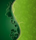 Floral wave Royalty Free Stock Photography