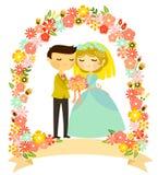 Floral wedding Stock Photo