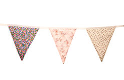 Floral wedding bunting Royalty Free Stock Images