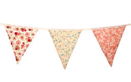 Floral wedding bunting Royalty Free Stock Photos
