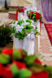 Floral wedding ceremony Stock Image