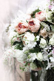 Floral wedding decoration Stock Photos