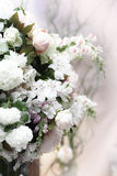 Floral wedding decoration Stock Photo