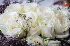 Floral wedding decoration Stock Images