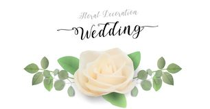 Floral Wedding Invitation, Thank You - card template trendy Design