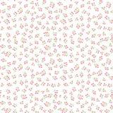 Floral white pattern. Flower seamless background. Flourish ornament. Floral white pattern. Flower seamless background. Spring flourish bouquet textured ornament vector illustration