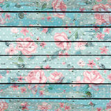 Floral Wood Royalty Free Stock Image