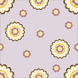 Floral woven background Stock Photography