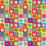 Floral wrapping paper seamless pattern Royalty Free Stock Image