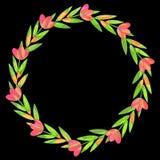 Floral wreath Stock Photos