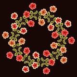 Floral wreath Royalty Free Stock Photo