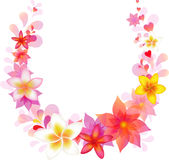 Floral Wreath. Vector  Royalty Free Stock Images