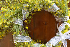 Floral wreath of May Stock Images