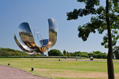 Floralis Generica Buenos Aires Stock Photography