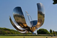 Floralis Generica Buenos Aires Royalty Free Stock Images