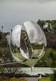 Floralis Generica in Buenos Aires, Argentina Royalty Free Stock Photos