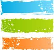 florals βρώμικα πολύχρωμα τρία εμ&b απεικόνιση αποθεμάτων