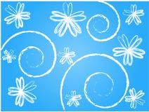 Florals de Grunge Fotografía de archivo libre de regalías