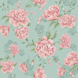 Florals design pattern illustration Royalty Free Stock Photo