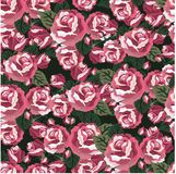Florals of seamless pattern background Stock Photo