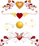 florals valentine Obrazy Royalty Free