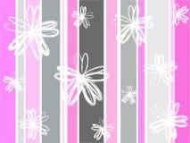 Florals van Grunge Royalty-vrije Stock Foto's