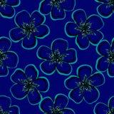 FloralVector Royaltyfri Fotografi