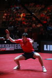 Flore Tristan. From France. Men`s Singles Round of 32 world table tennis championships in Dusseldorf. 29 May 6 june 2017 stock photos