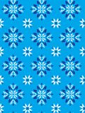 Floreal-Laub-Muster 4 stockbild