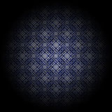 Floreale blu di lusso Fotografia Stock