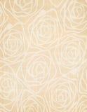 Floreale decorativo del fondo di tela di Rose Flower Fotografie Stock