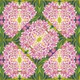 Floreale decorativo variopinto del fondo senza cuciture del fiore Immagini Stock Libere da Diritti