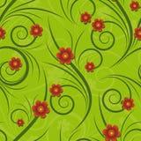 Floreale senza giunte Fotografia Stock