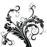 Floreale stilizzato Fotografia Stock