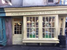 Florean Forfescue`s Ice Cream Parlour Royalty Free Stock Photography