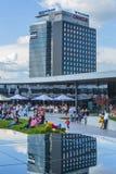 Floreasca-Stadtzentrum, Bukarest, Rumänien Lizenzfreies Stockbild