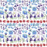 Florece el ejemplo de la acuarela Composición floral Mime al día del ` s, boda, cumpleaños, Pascua, día del ` s de la tarjeta del fotos de archivo libres de regalías