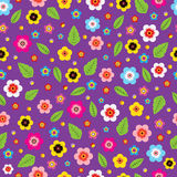 Florece púrpura Imagenes de archivo