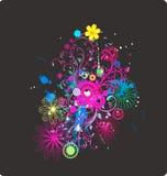 Florece tema Stock de ilustración