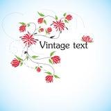 Florece vector del fondo Fotografía de archivo libre de regalías