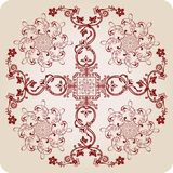Florel Calligraphic Elements. Vintage Ornament Royalty Free Stock Photos