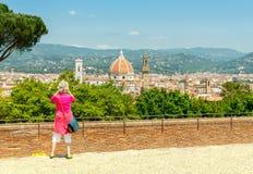 Florença Belvedere do forte Fotos de Stock