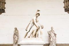 Florença, dei Lanzi da loggia Fotos de Stock Royalty Free