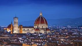 Florença, domo Santa Maria Del Fiore Foto de Stock