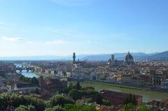 Florença e Santa Maria del Fiore fotografia de stock