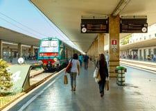 Florença Estação de caminhos-de-ferro imagem de stock
