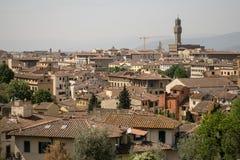 Florença, Itália - 24 de abril de 2018: vista nos telhados de Florença Foto de Stock Royalty Free